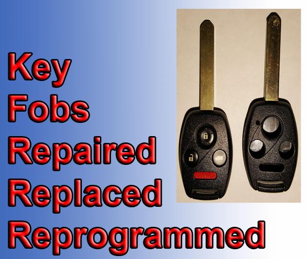 Key Fob for repair replacement reprogram